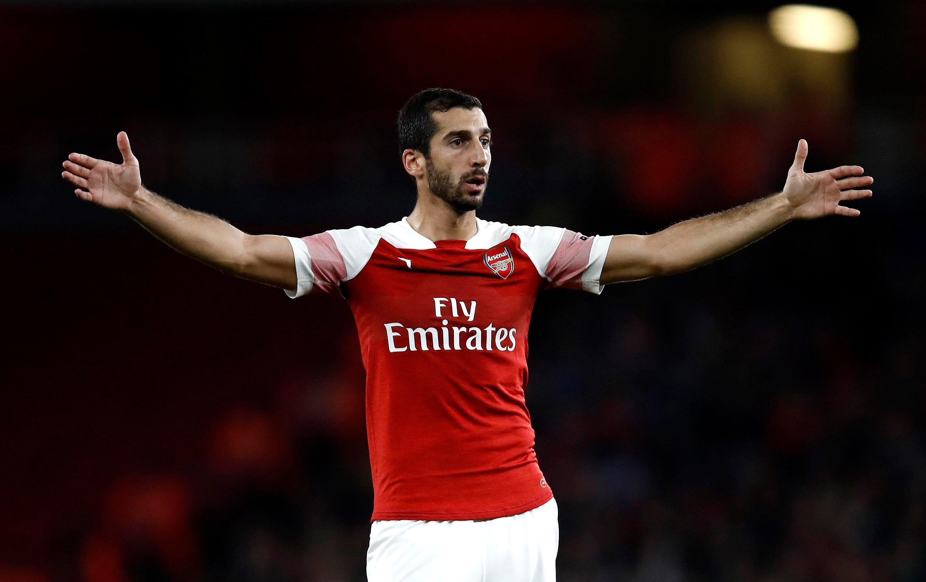 Henrikh Mkhitaryan will not travel to Azerbaijan when his team face Qarabag
