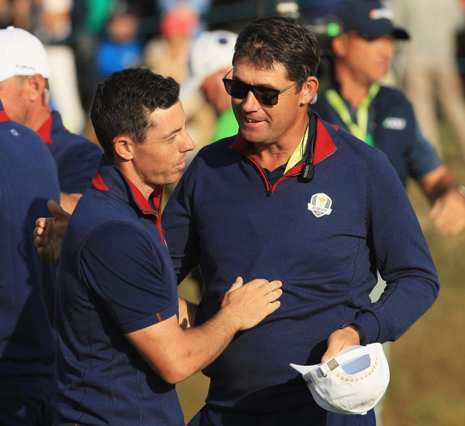 Harrington showed his qualities as a successful vice-captain at Le Golf National