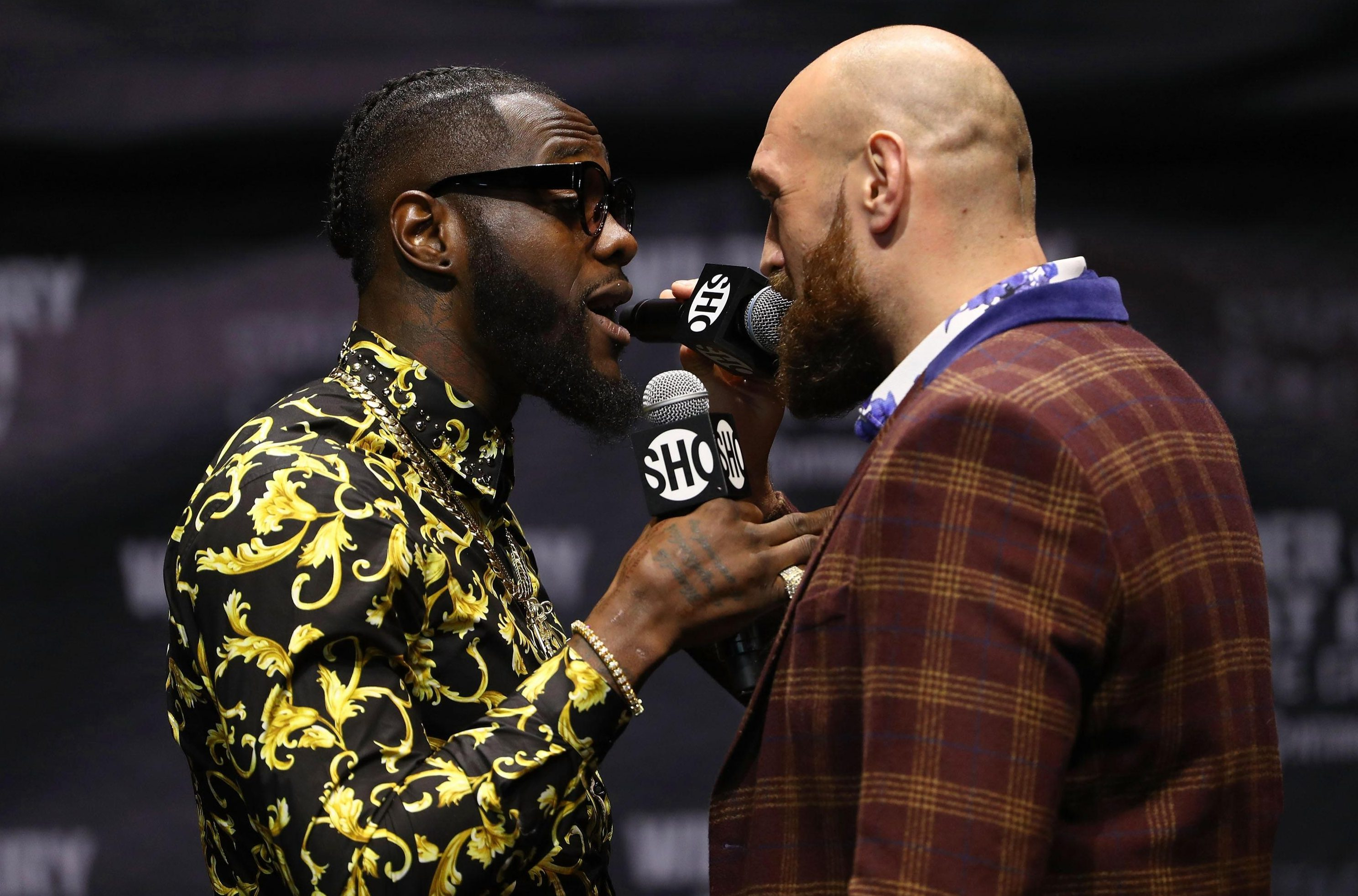 WBC champion Wilder will defend his gold against Fury on December 1