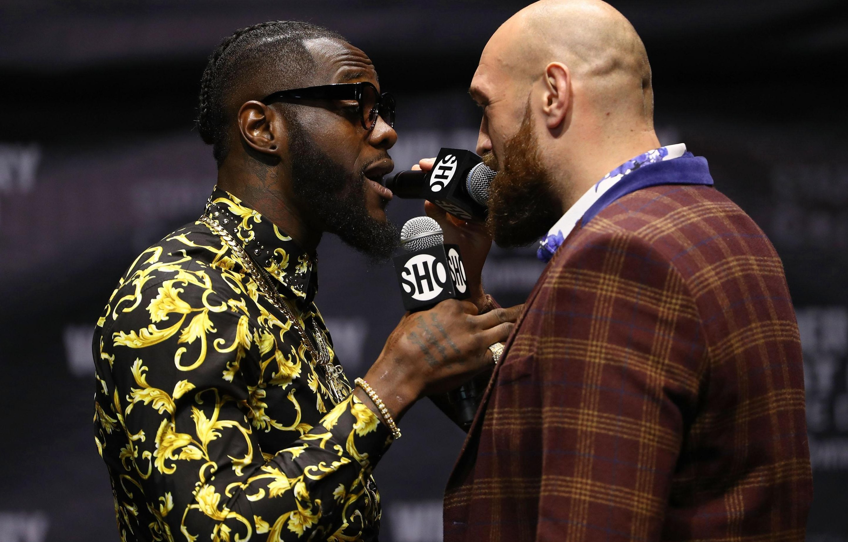 Wilder, 33, is preparing to face unbeaten Brit Tyson Fury in December