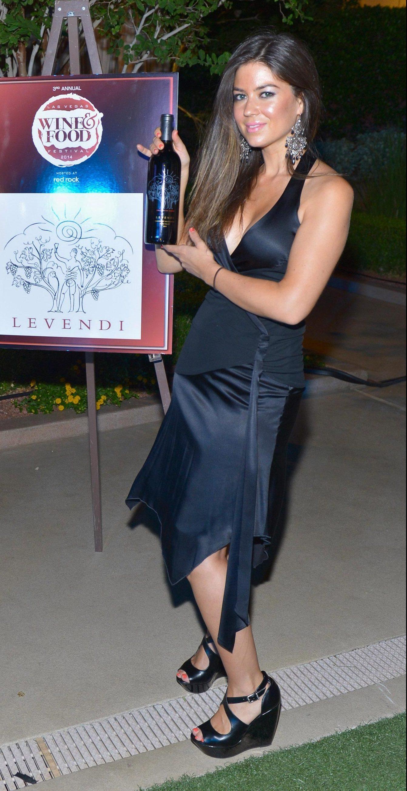 Kathyrn Mayorga at the 2014 Las Vegas Food & Wine Festival at Red Rock Casino