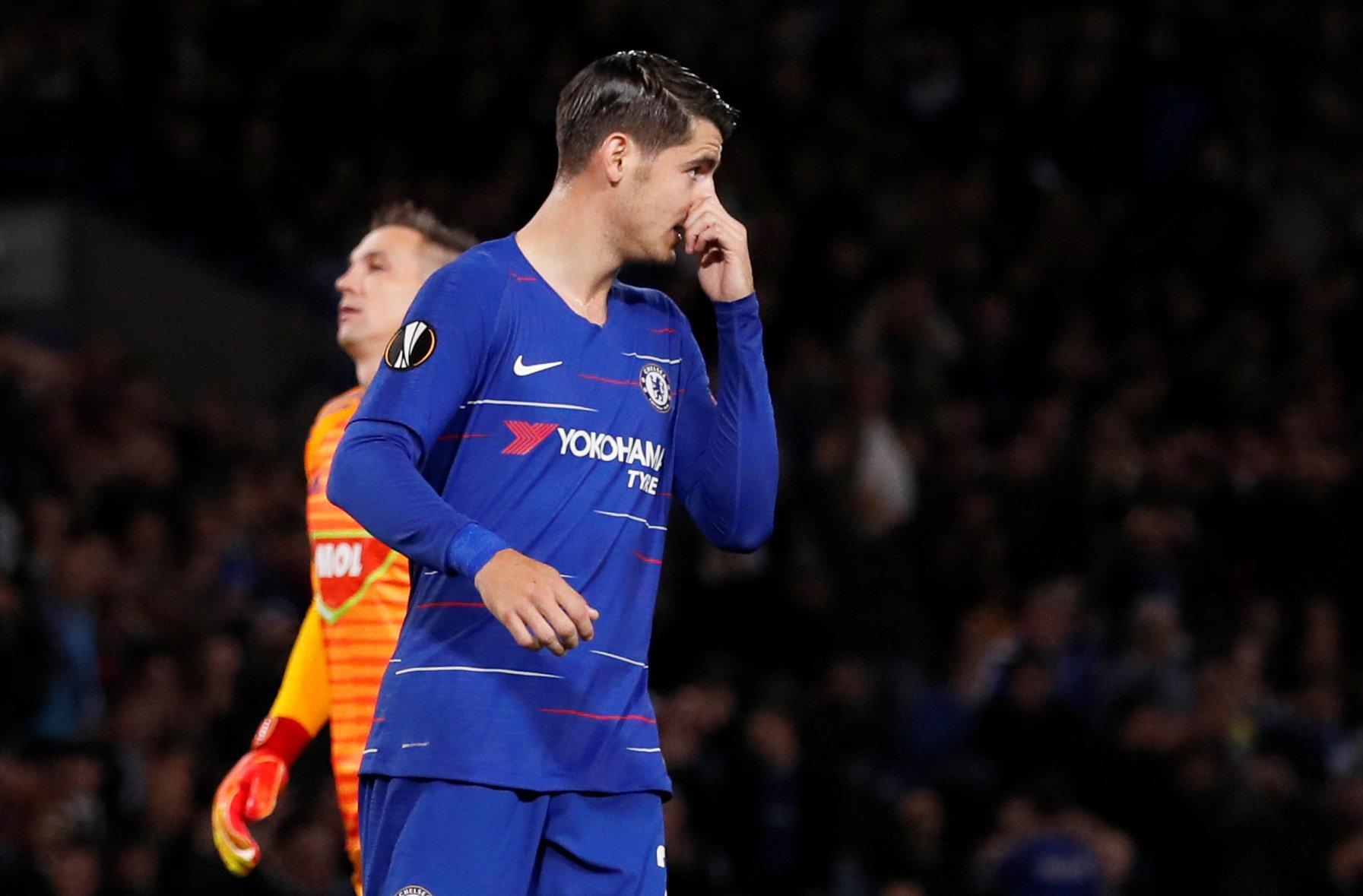 The striker couldn't believe he hadn't even hit the target