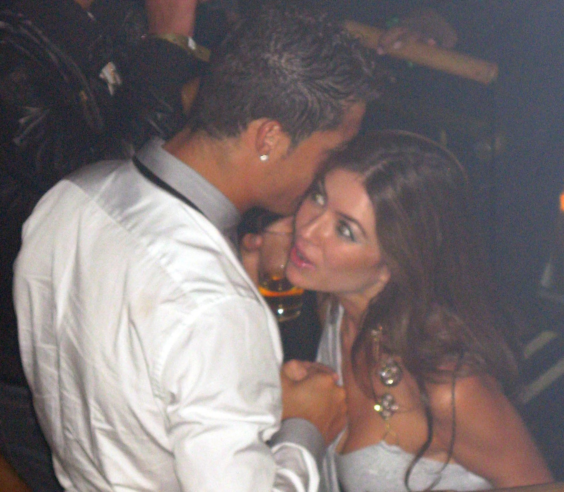 Ronaldo is clearly seen to be on friendly terms with Kathryn Mayorga, who says he later raped her - an accusation strenuously denied by the player