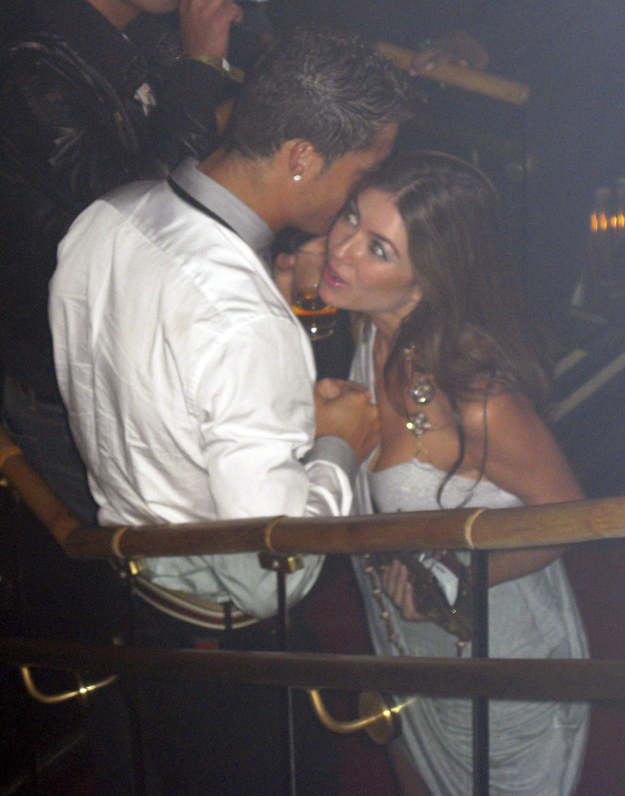 Ronaldo was snapped with rape accuser Kathryn Mayorga in the Rain nightclub Las Vegas in June 2009