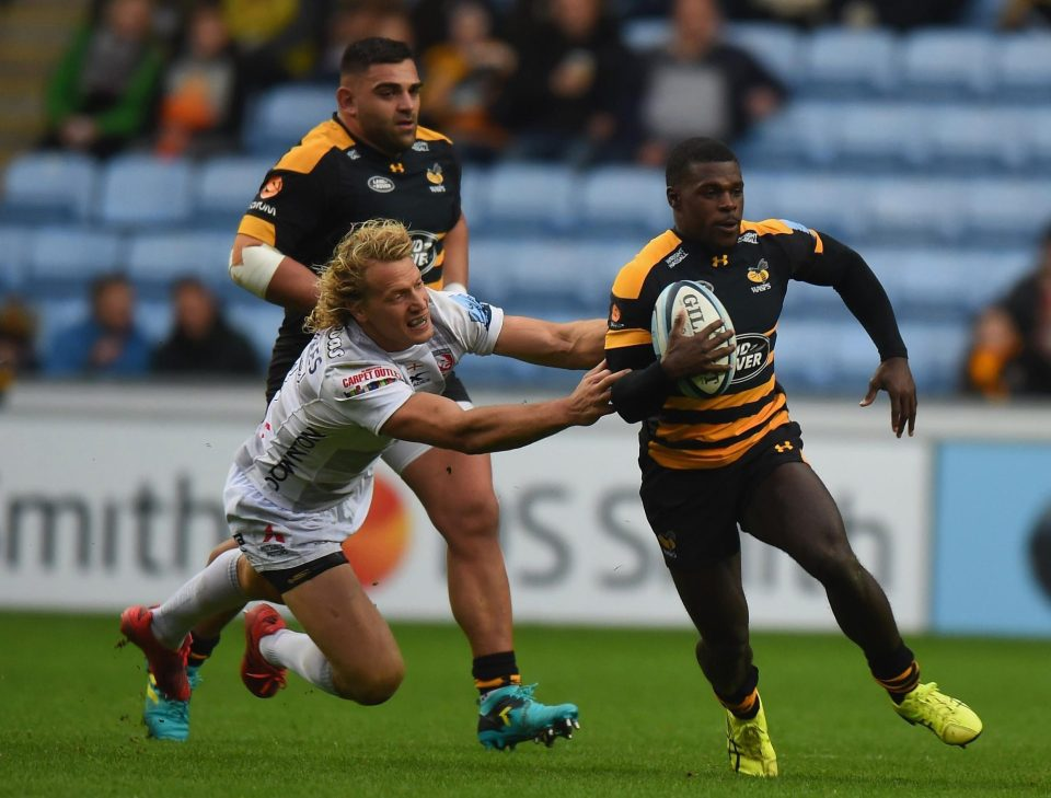 Christian Wade has stunned and disappointed Wasps by testing his fortune in NFL