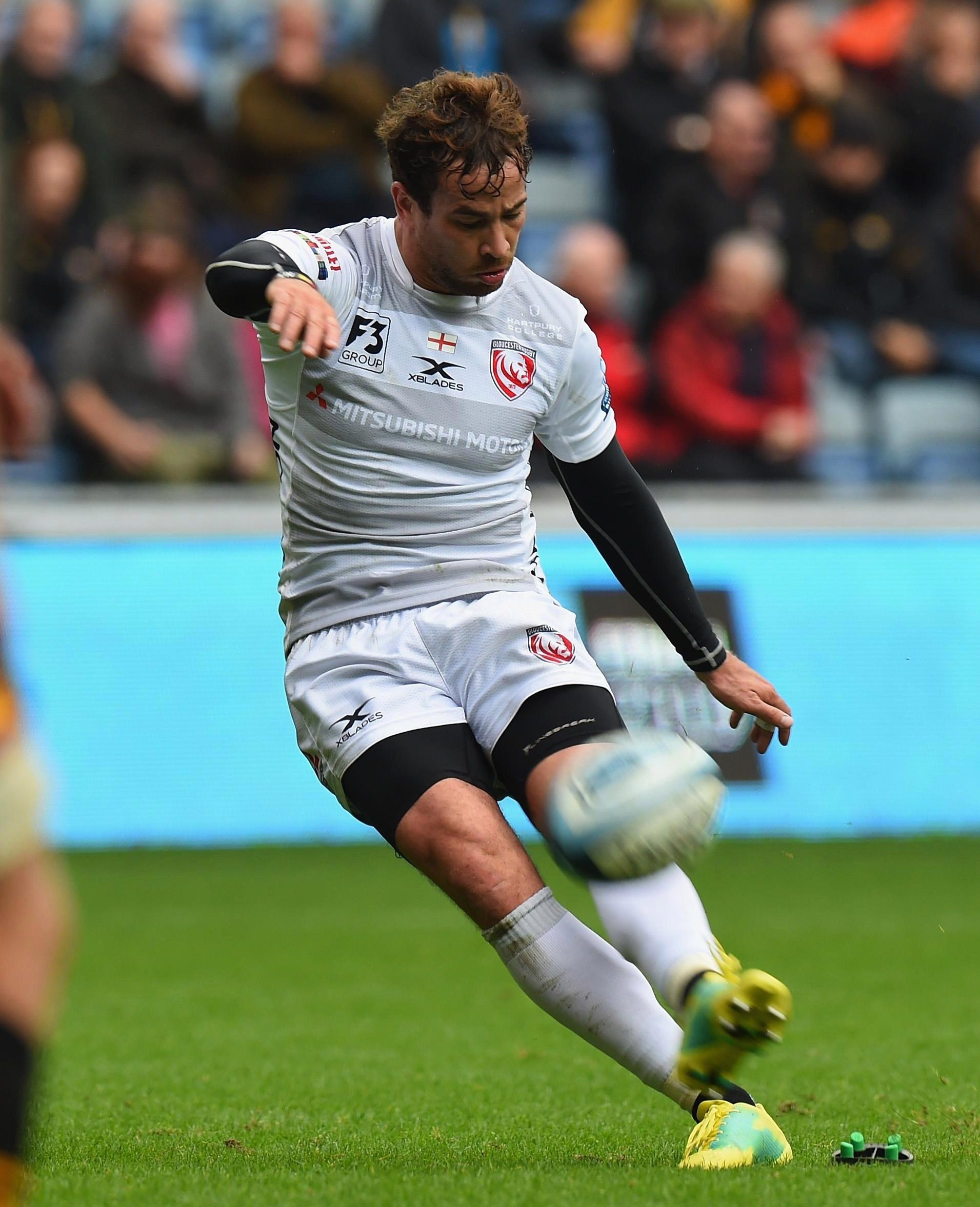 Danny Cipriani is the reigning Premiership player-of-the-month