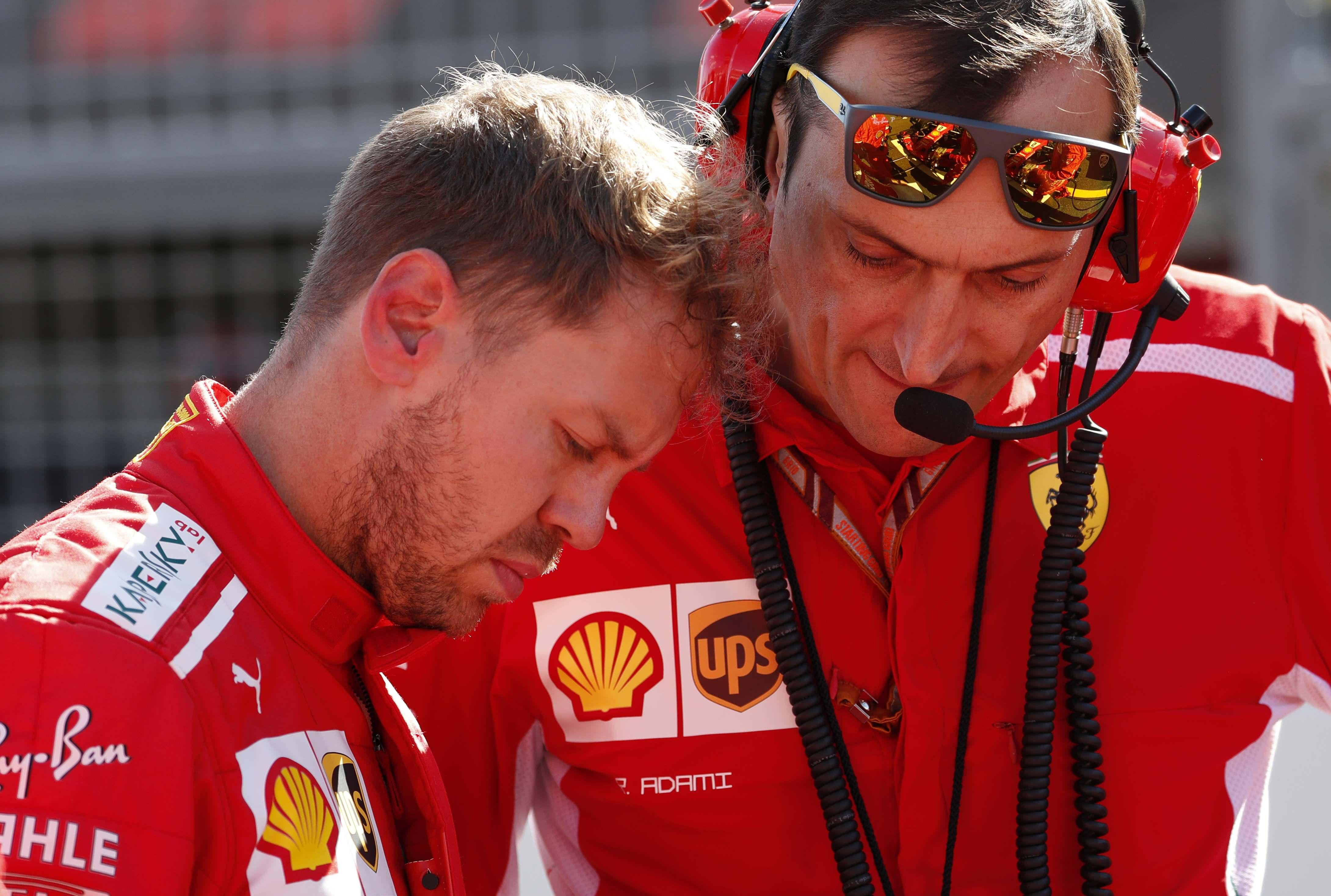Ferrari ace Sebastian Vettel is accused of showing how NOT to win a world title