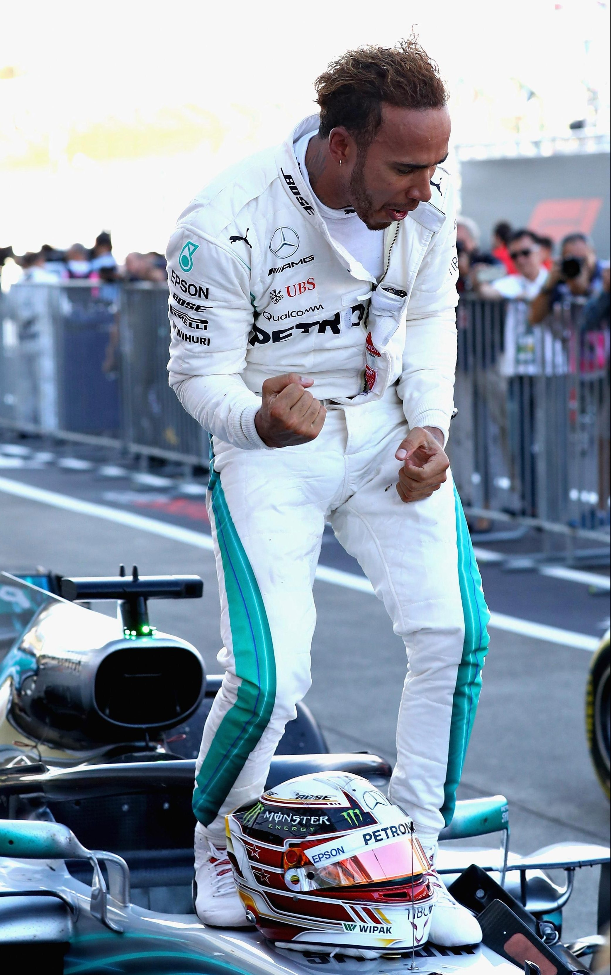 Hamilton has won six of the last seven races in Formula One thanks to today's win