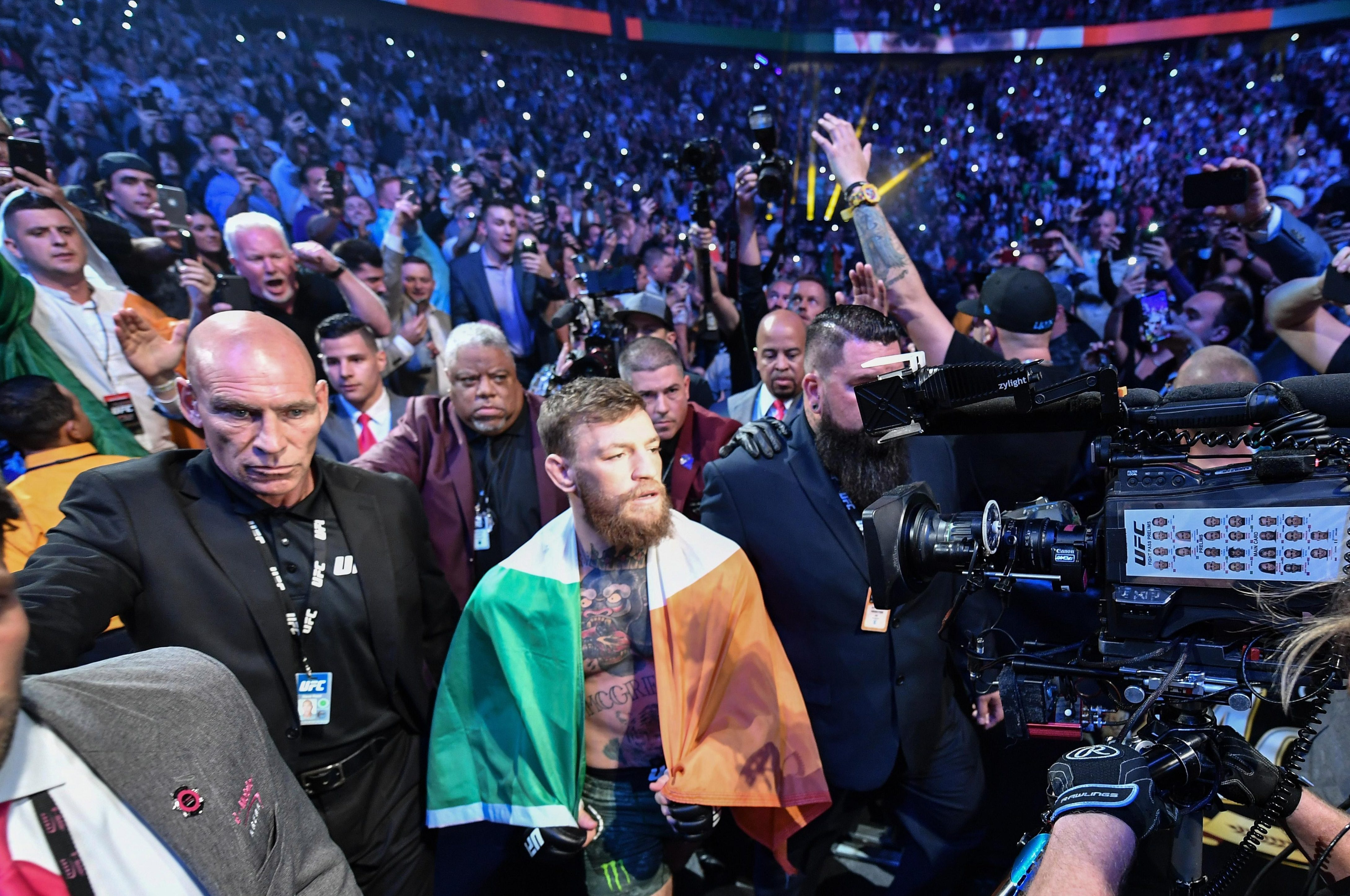 Conor McGregor returned to the octagon after a near two-year hiatus