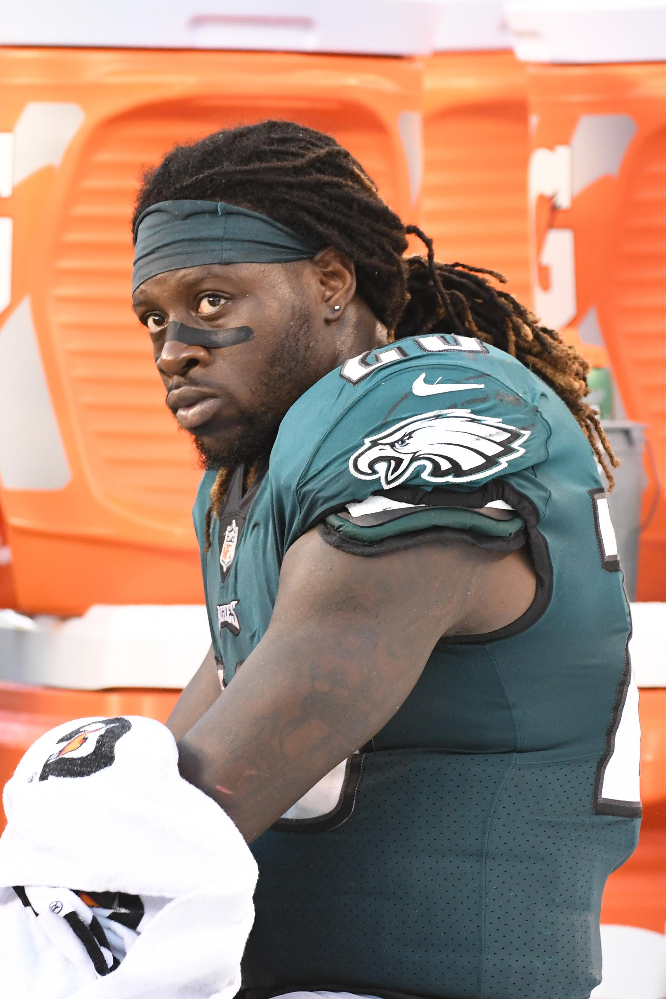 Ajayi is one of the most exciting talents in the NFL but faces missing the season with a cruciate ligament injury