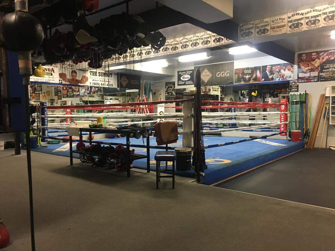 The Summit gym has hosted some huge boxing stars like Tyson Fury