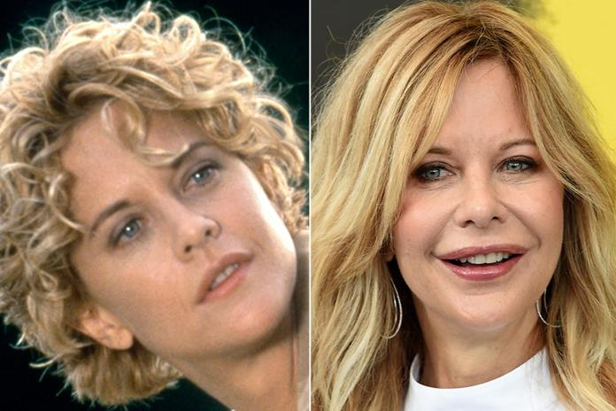 Meg Ryan doesn't quite look like the same person now