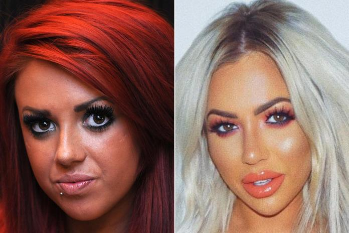 Holly completely changed her appearance throughout the filming of Geordie Shore
