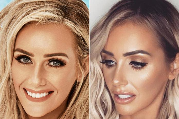 The Love Island star hasn't changed too much since her time in the villa
