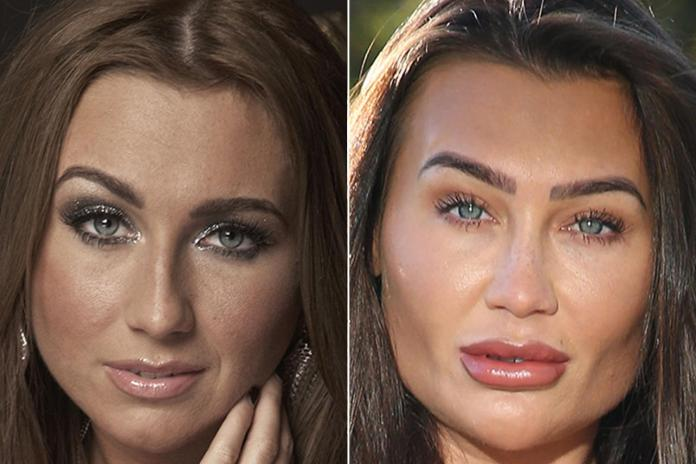 The TV personality has really changed the shape of her face