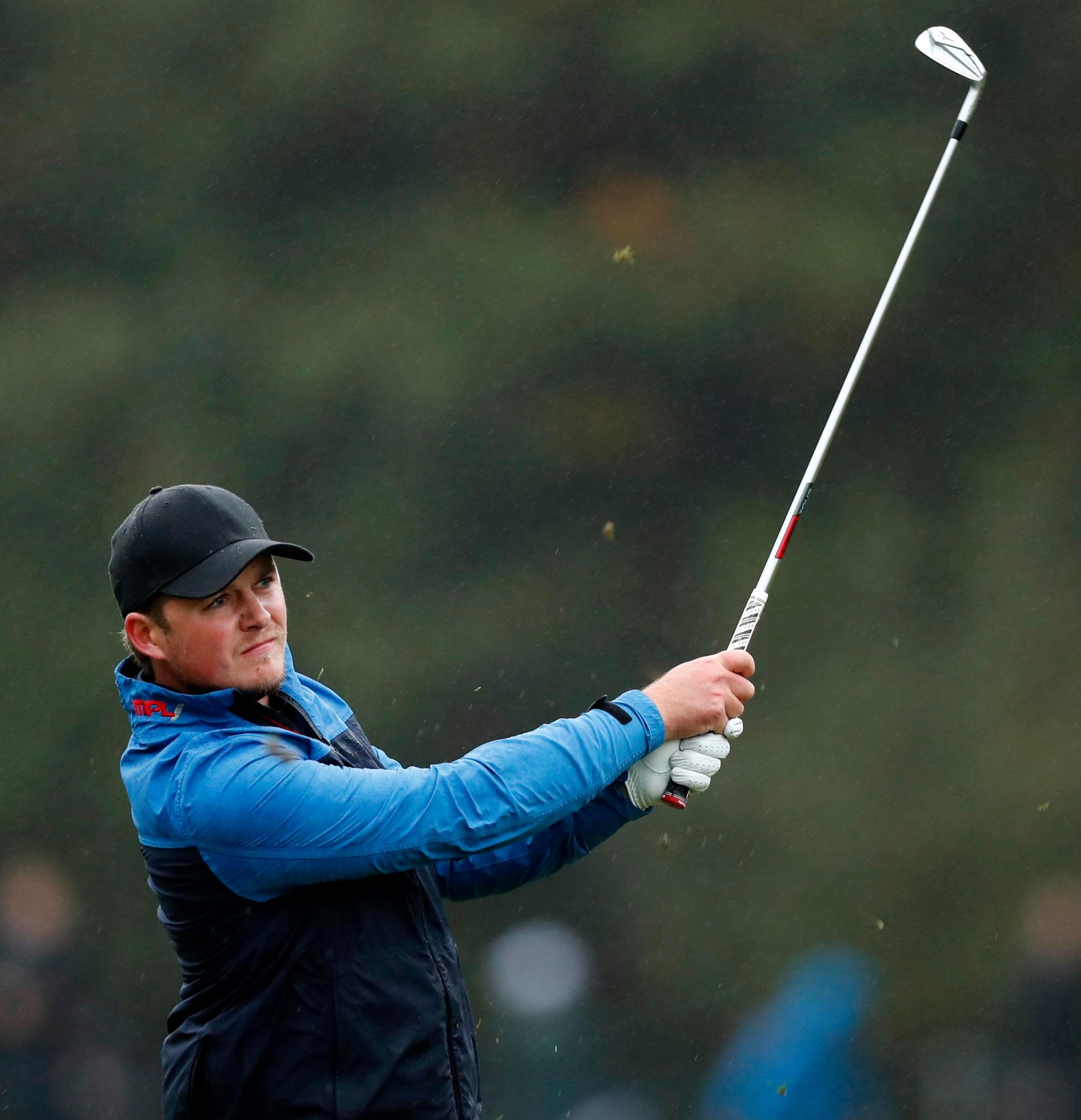 Eddie Pepperell holed in from 122 yards for a crucial eagle at the tenth hole