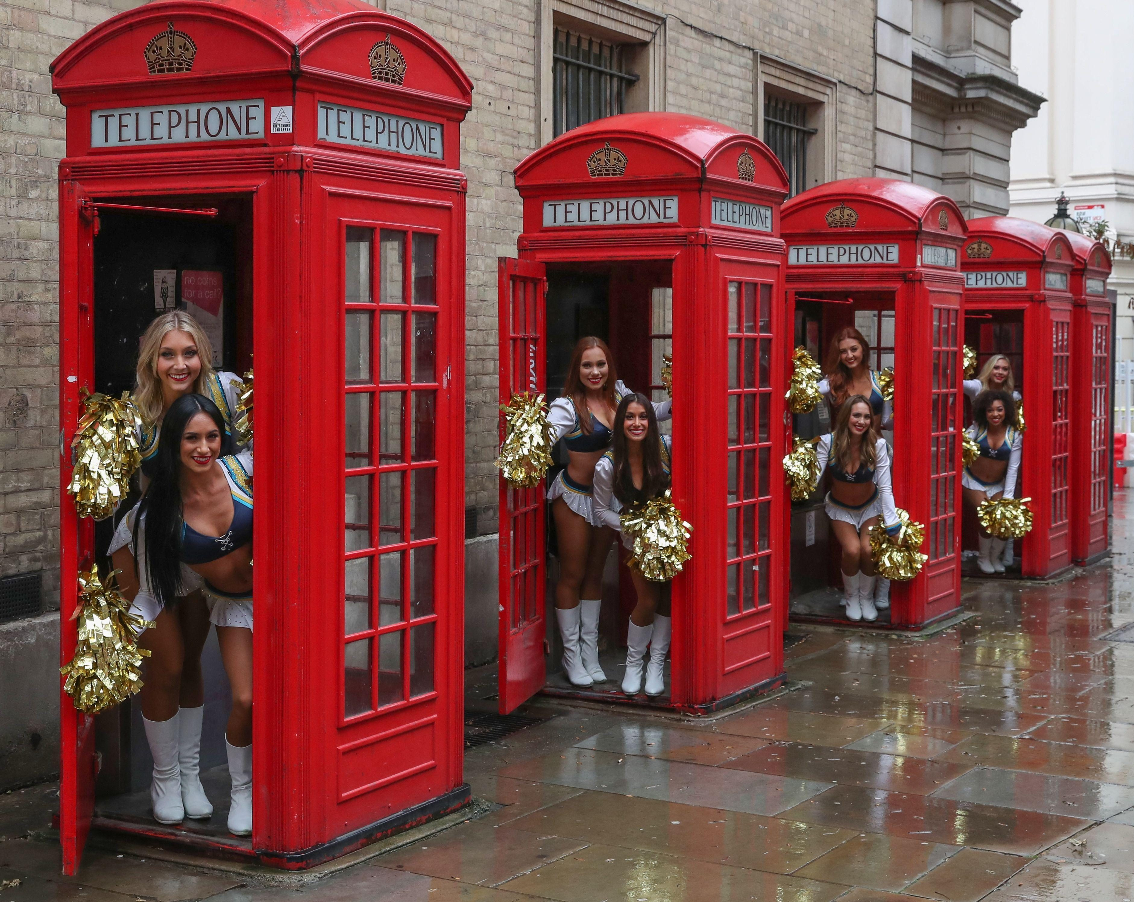 No London sight was left un-visited by the Chargers girls on Wednesday