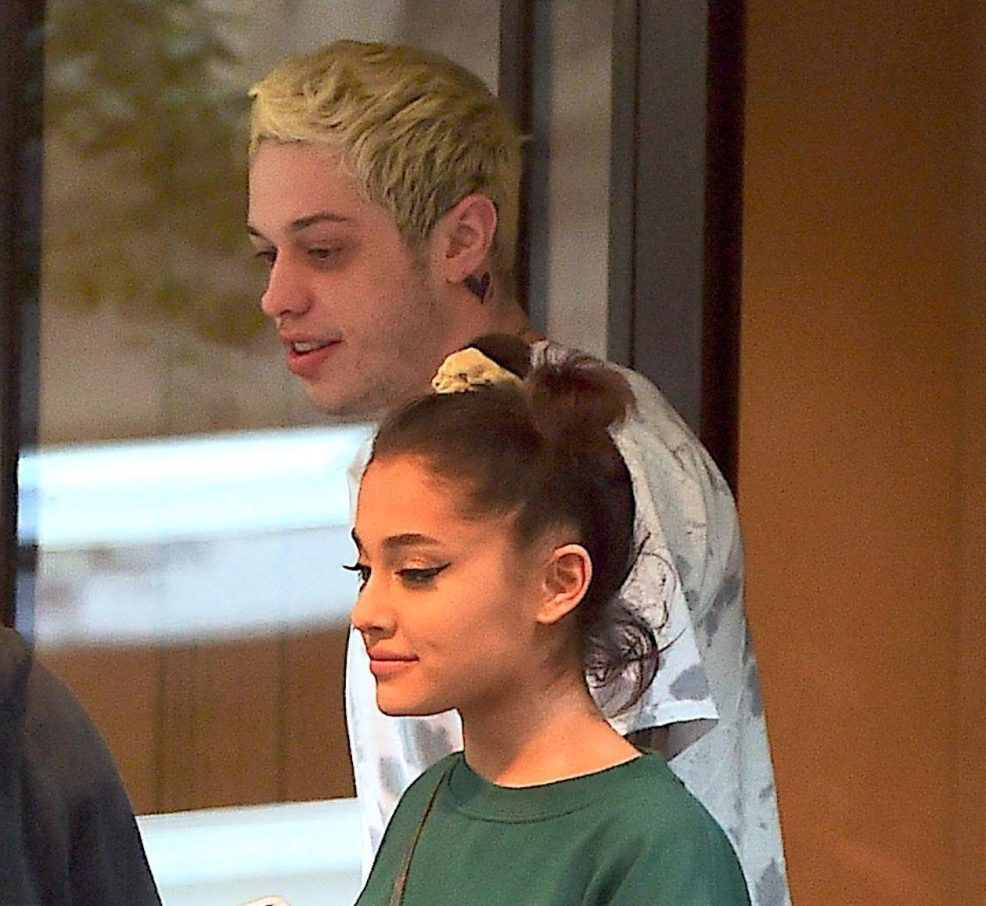 Ariana Grandes Ex Pete Davidson Already Covering Up His Tattoo