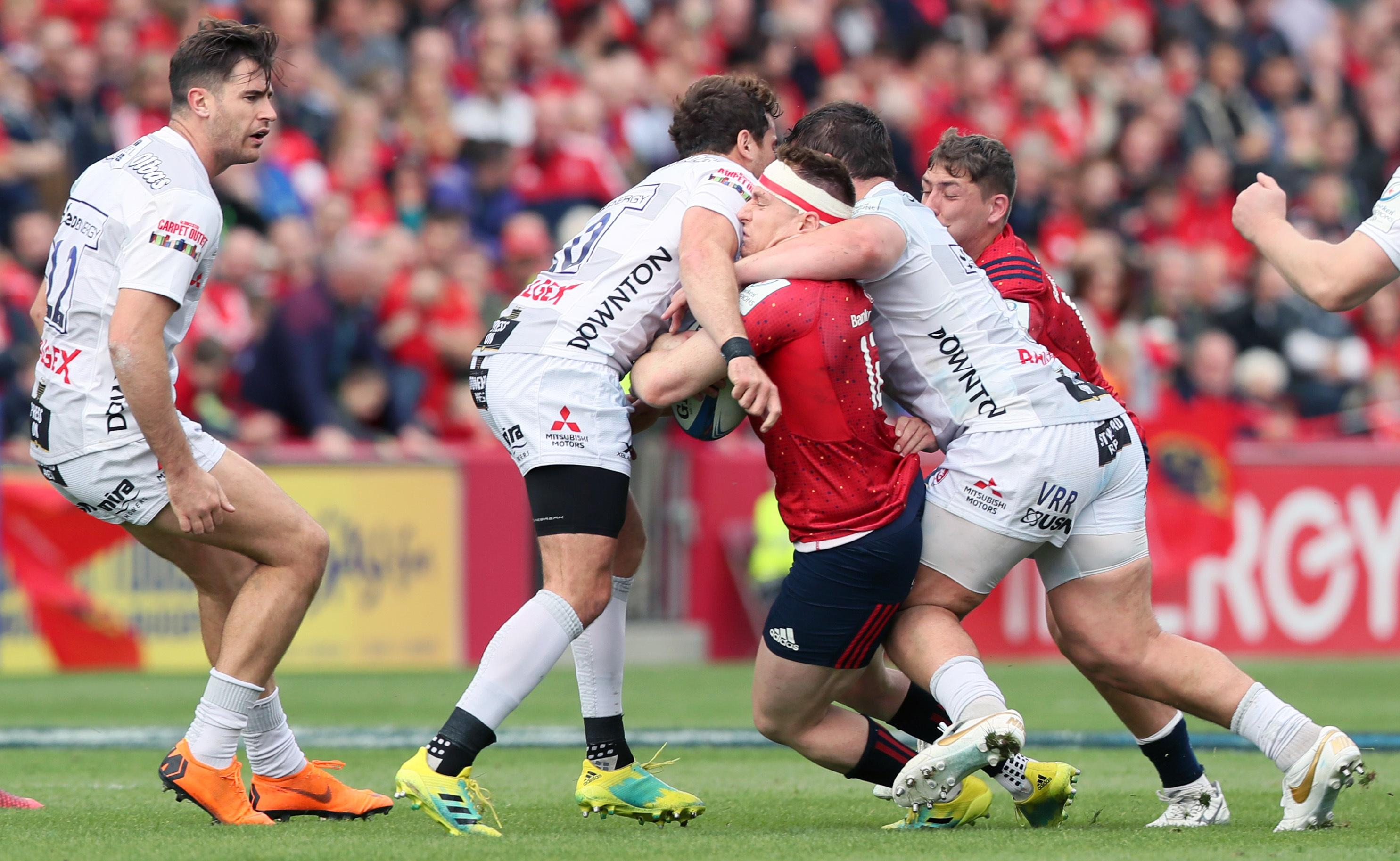 Danny Cipriani's week got a whole lot worse when he was sent off for Gloucester for this