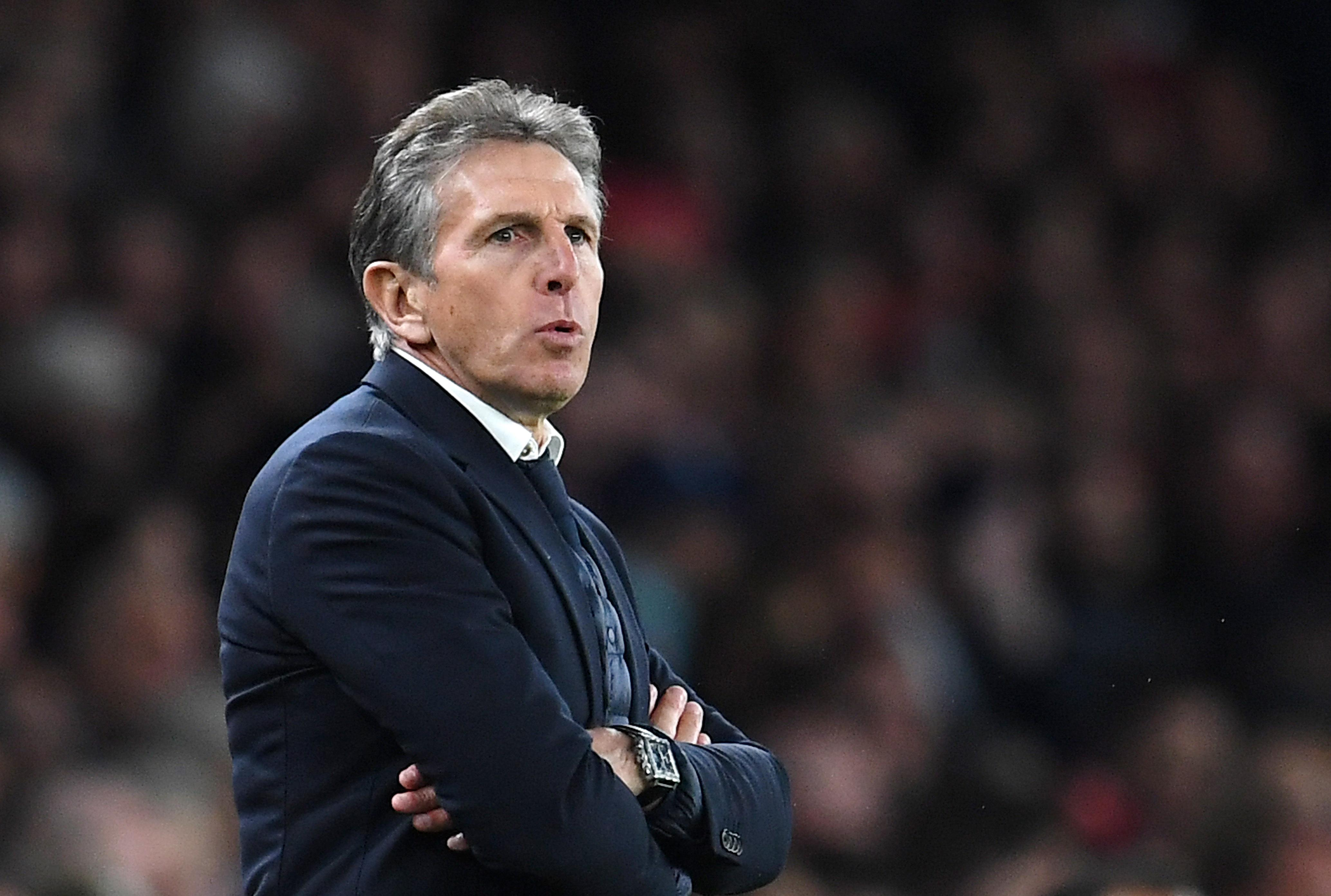 Claude Puel was left feeling flat at the final whistle
