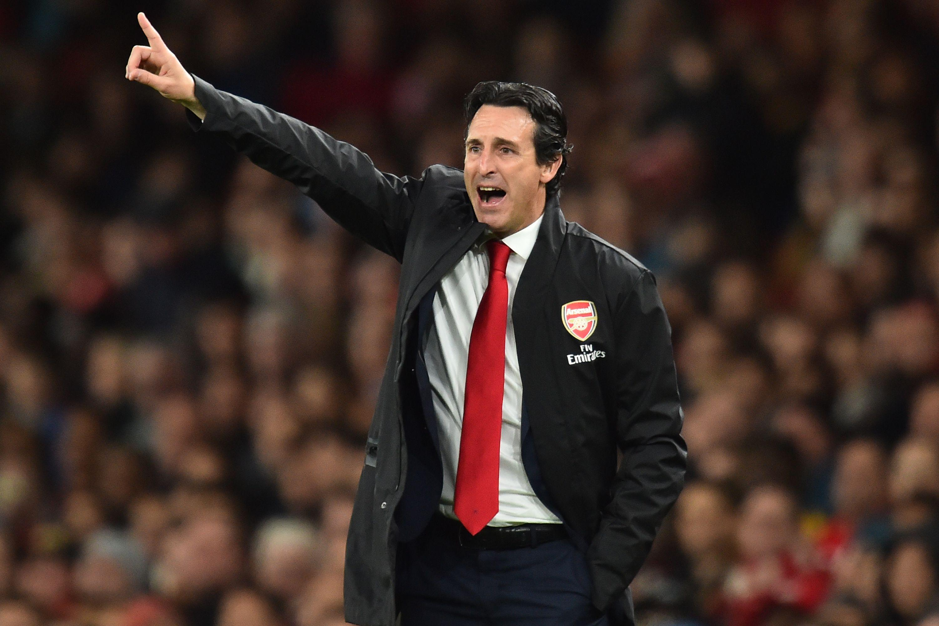 Unai Emery's men have now won ten games on the bounce
