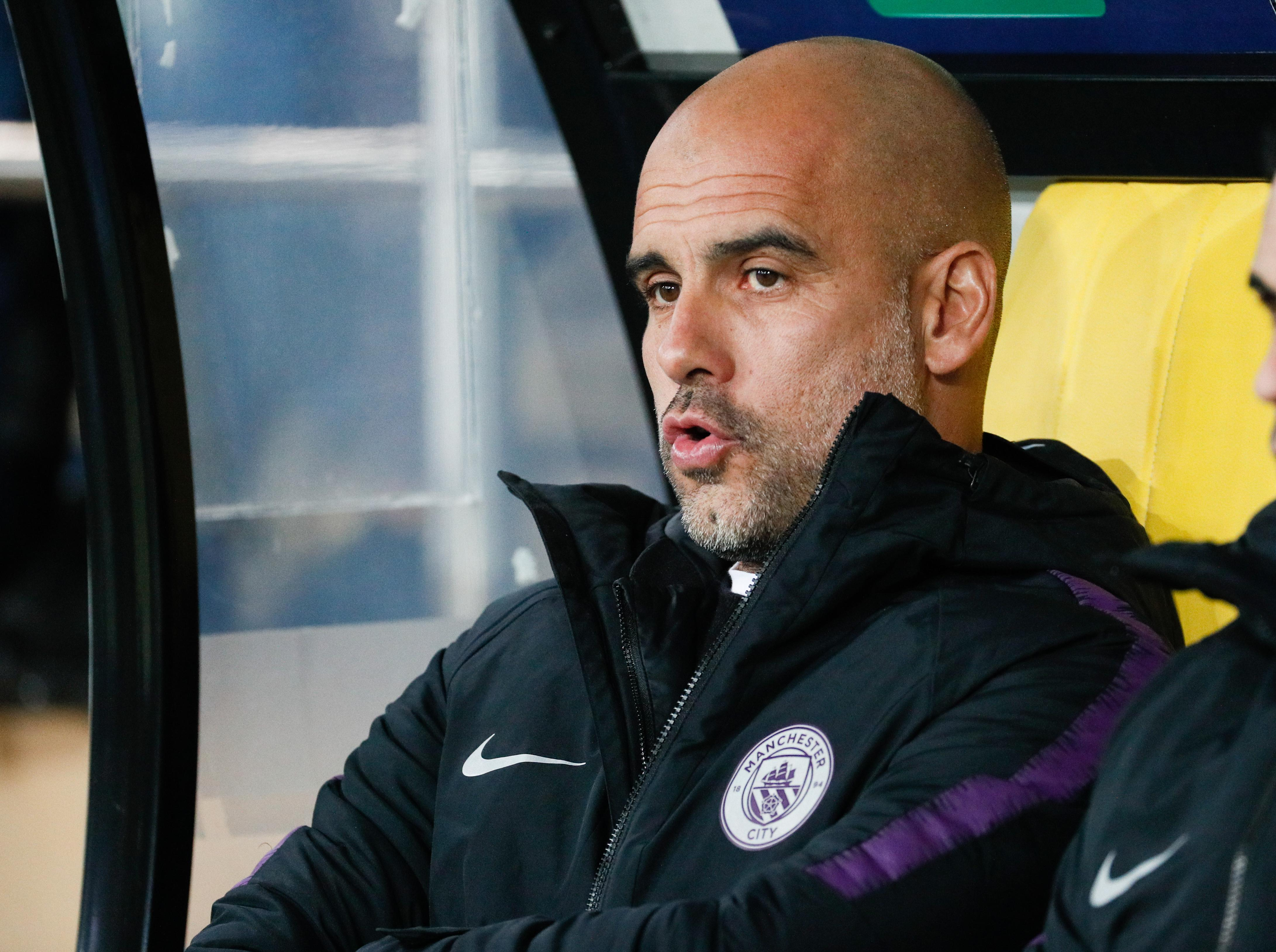 Pep Guardiola has already expressed his concern about the match