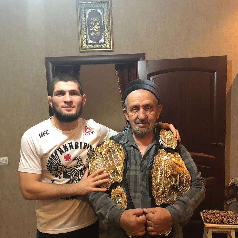 Khabib posted the three-word reply to Notorious' 409-word fight summation