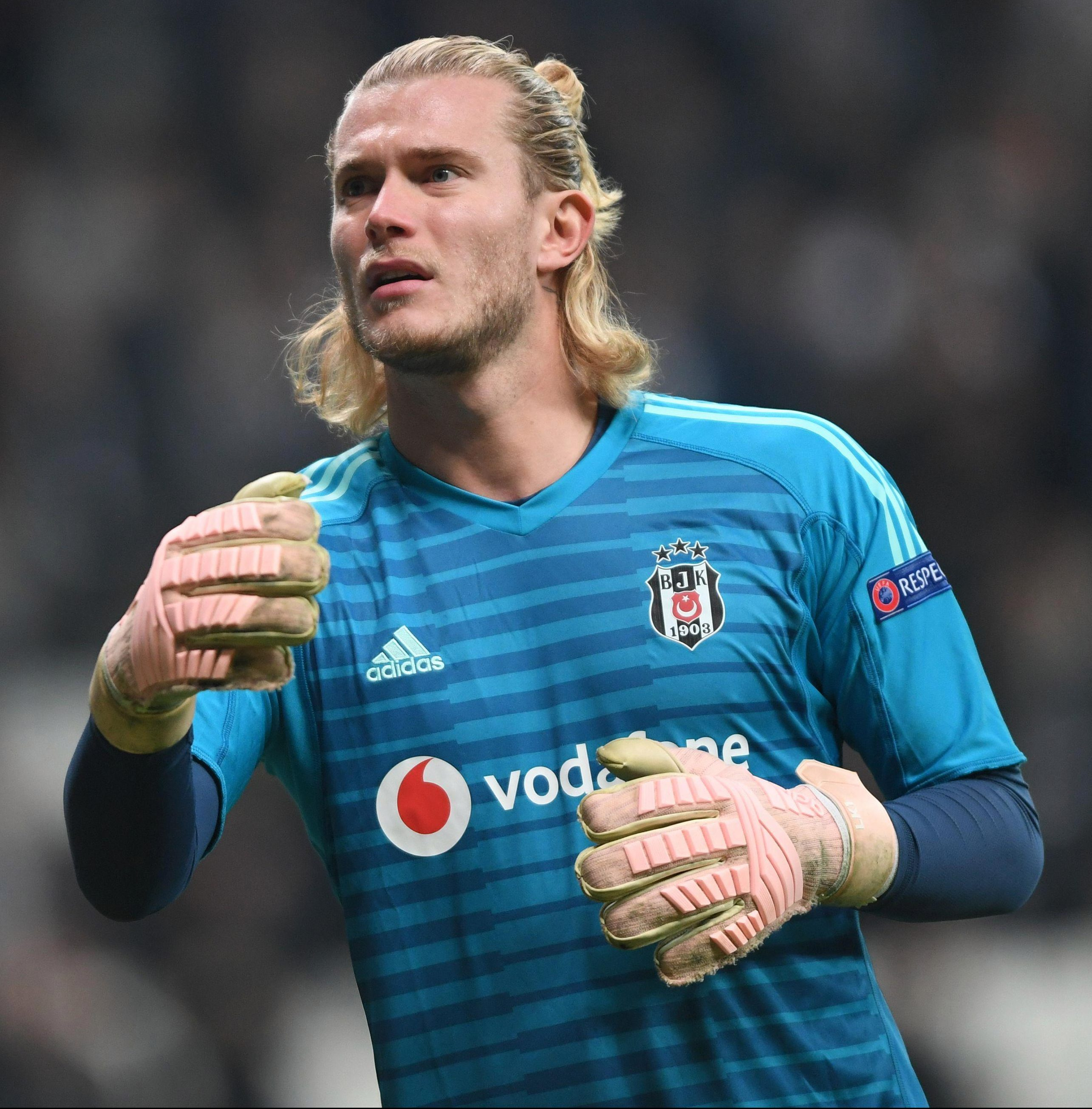 German keeper Loris Karius was shipped out on loan after two costly errors for Liverpool against Real - and has since made big mistakes for Besitkas too