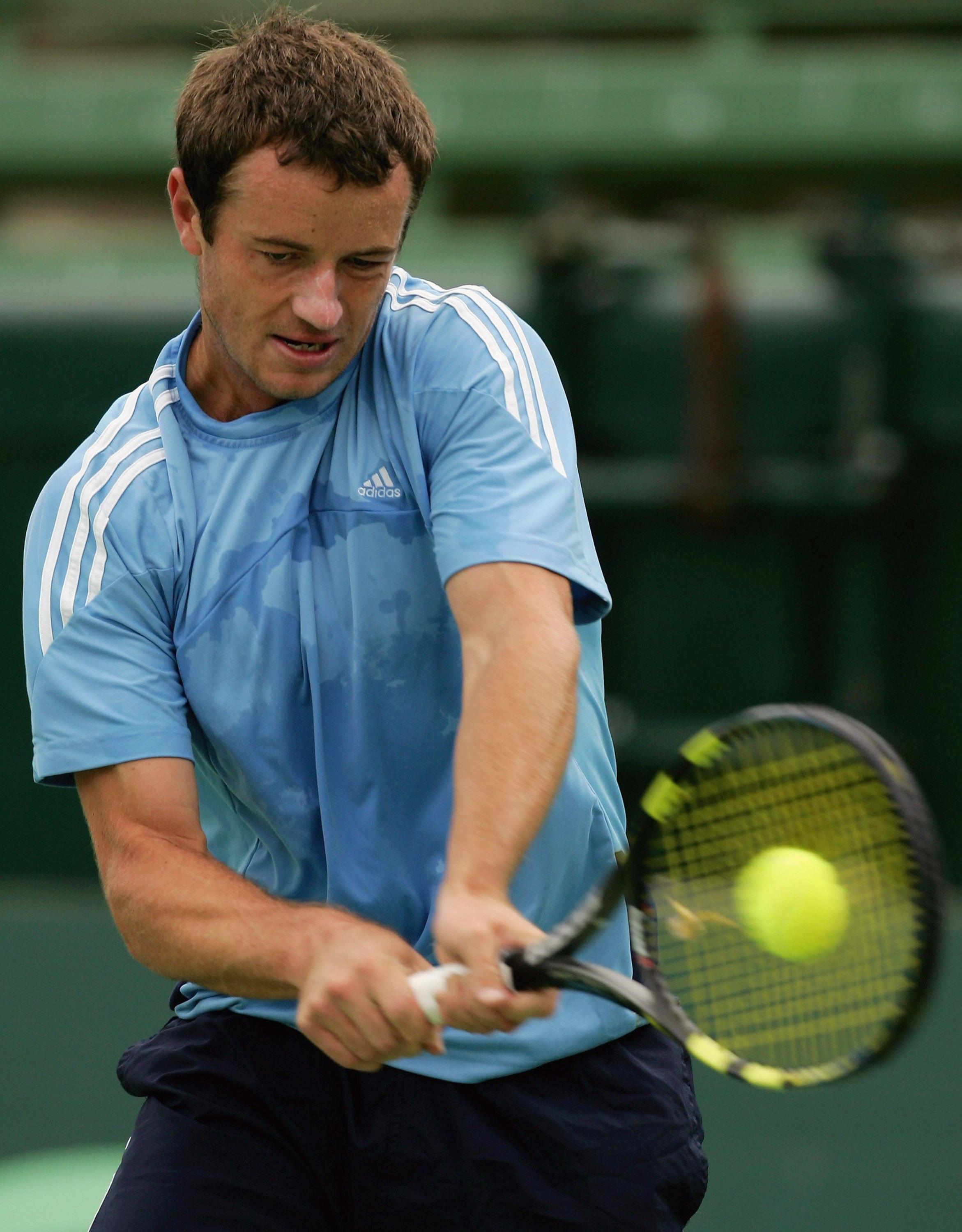 Todd Reid was tipped to become the next big thing in tennis before injuries hit
