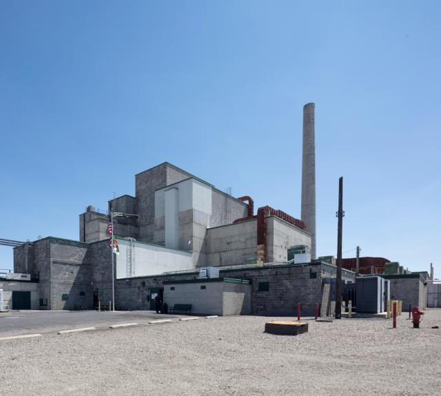 The B Reactor at Hanford, near Richland, Washington