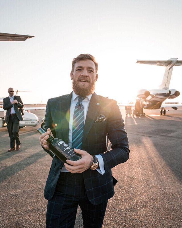 McGregor has been touring his new whiskey brand Proper Twelve