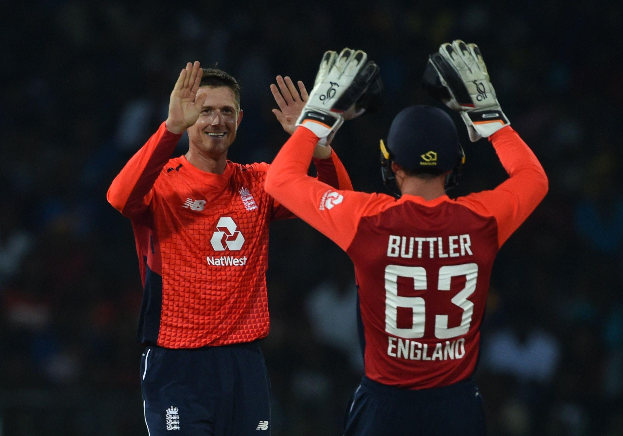 The Kent all-rounder was playing his first international match since February 2010