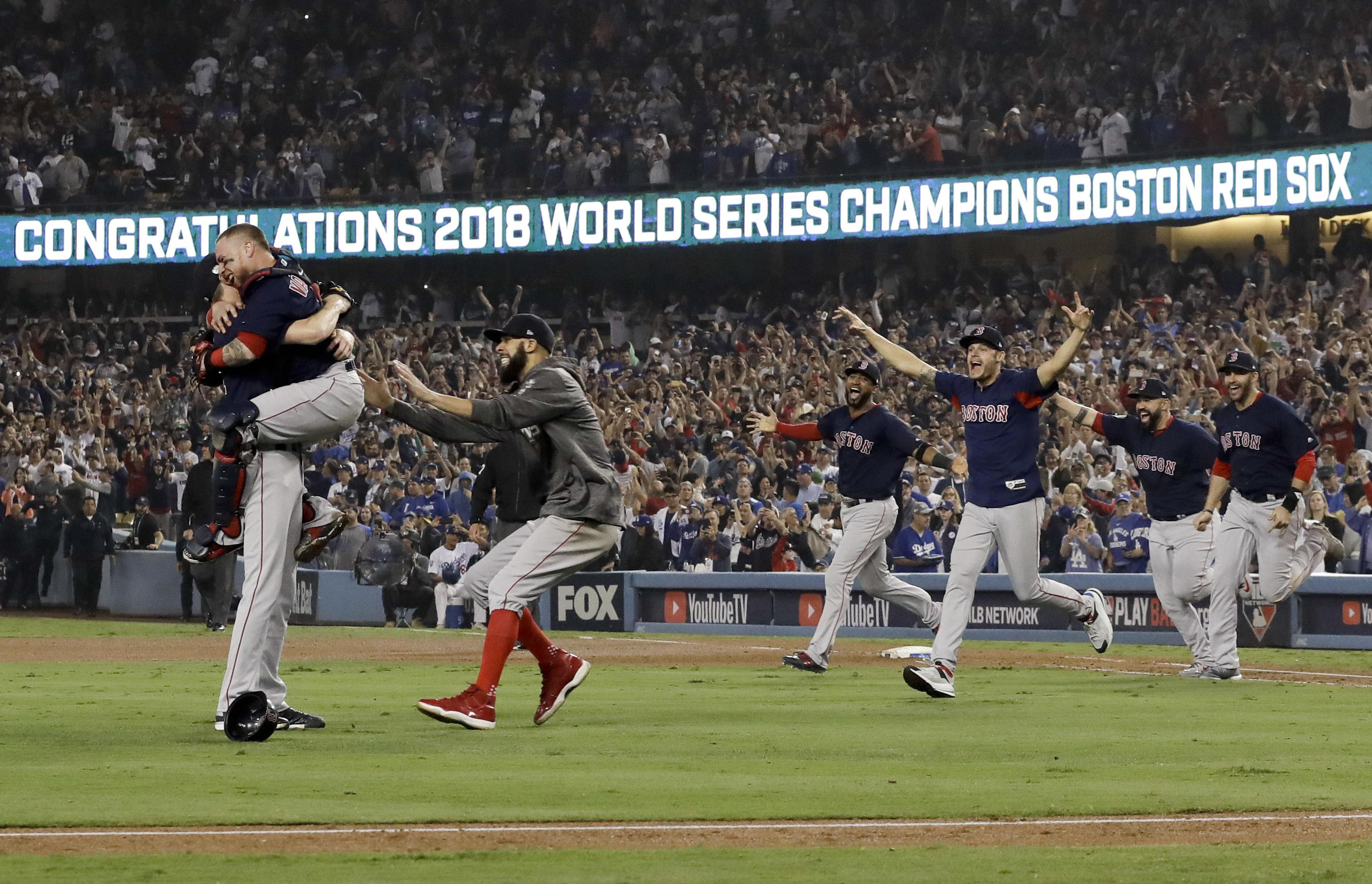 The Red Sox won 5-1 to win the series 4 games to 1