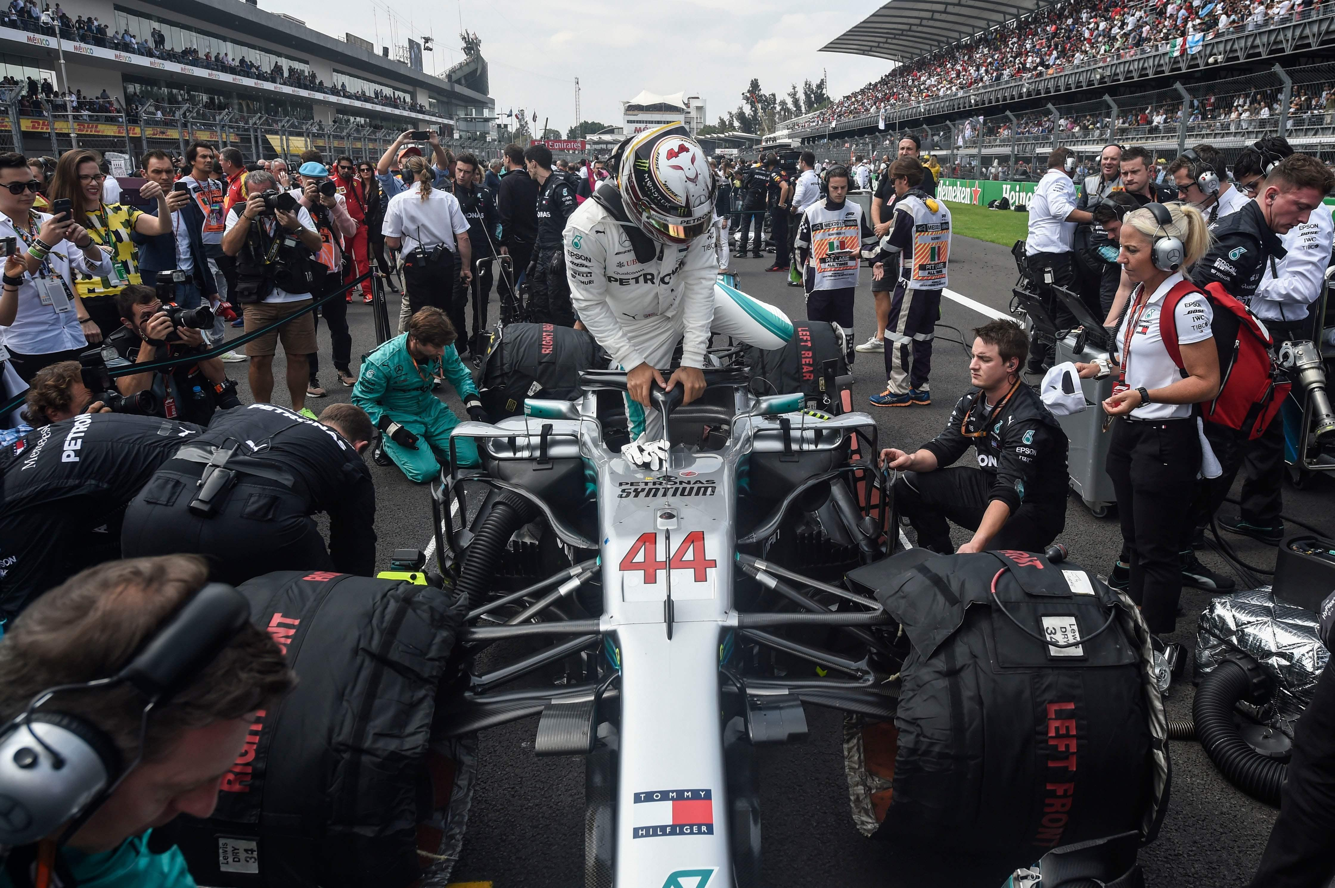 Hamilton is just two titles away from equalling Schumacher's record