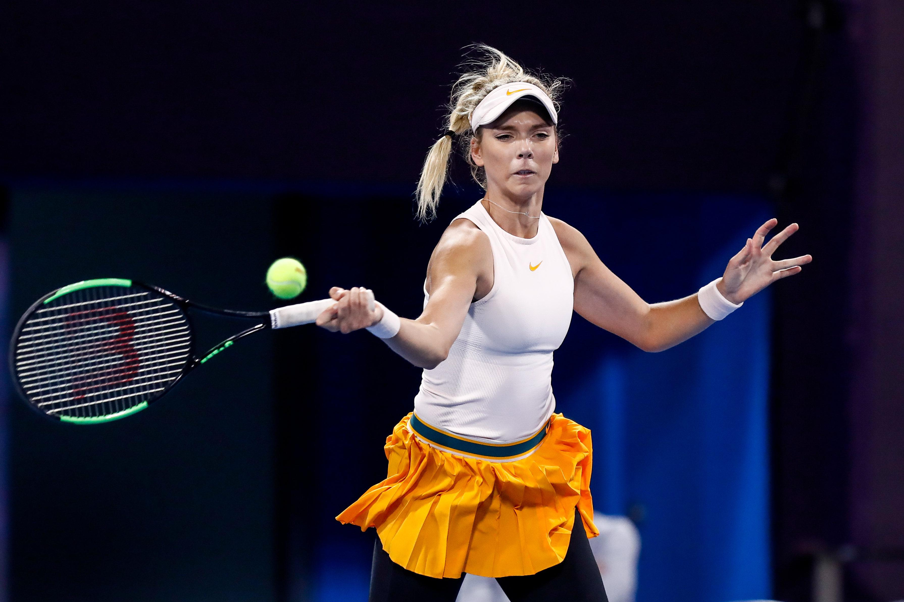 Katie Boulter is now ranked 96th in the world -- her highest career placing