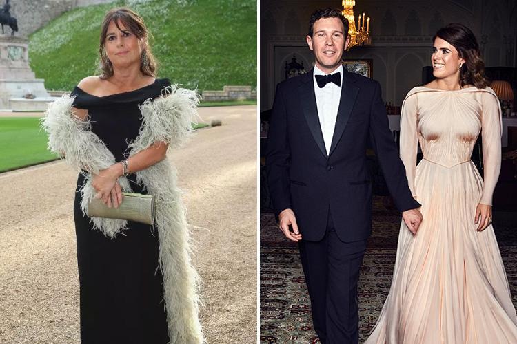 d3af60a5d16f Ex-Vogue editor Alexandra Shulman says Princess Eugenie s Zac Posen dress  didn