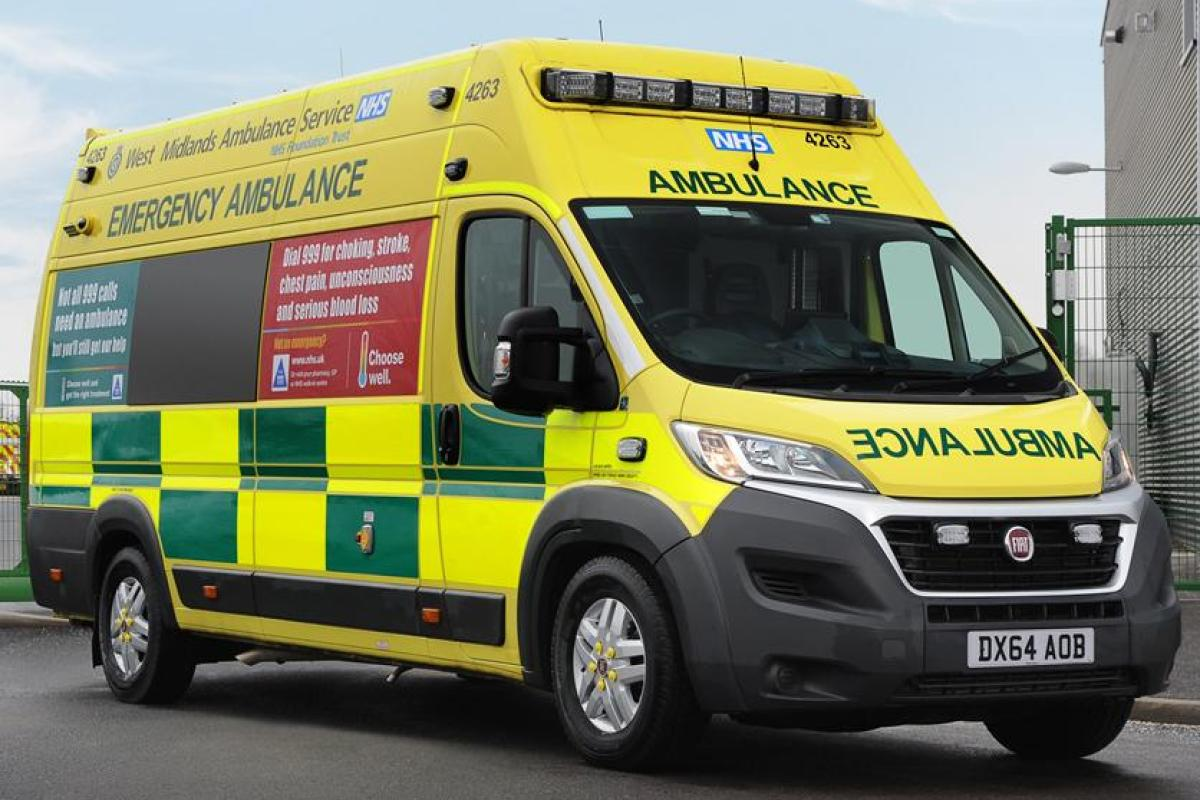 All British ambulances could soon be made by Fiat to cut