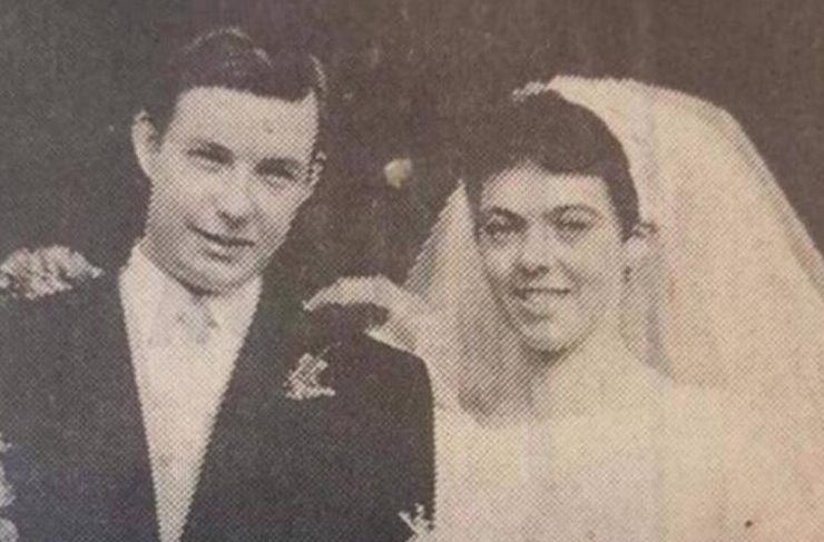 Two decades before Rory McIlroy was born, this female look-alike got married