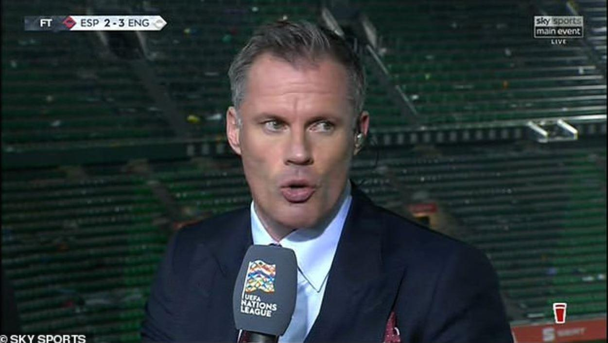 Jamie Carragher says the clash left him 'wanting to see more'