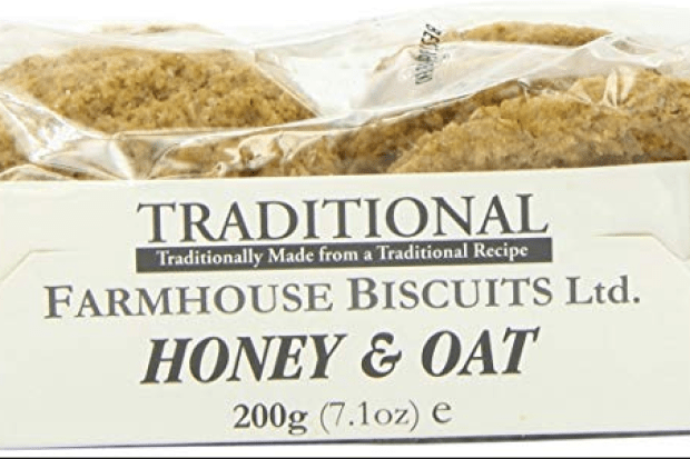 Honey And Oat Biscuits Sold At Asda Recalled As They Could Trigger Allergic Reactions