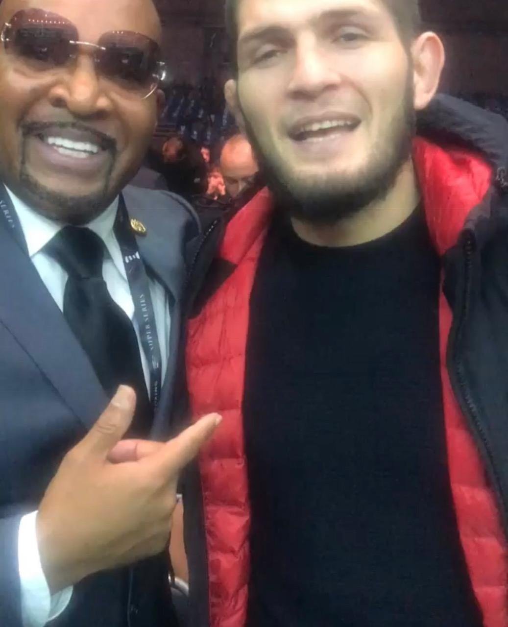 Khabib Nurmagomedov has called out Floyd Mayweather after beating Conor McGregor