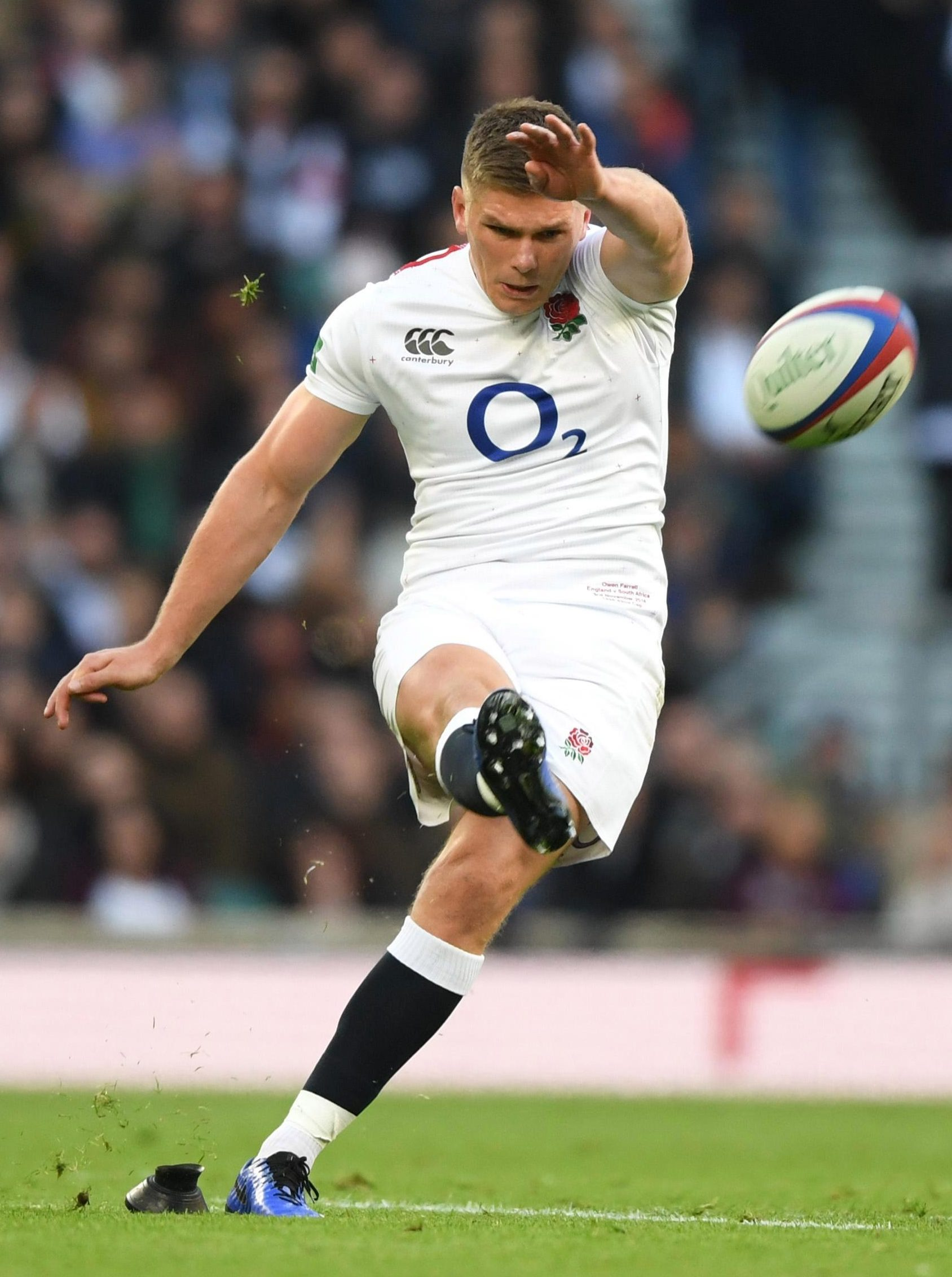 Owen Farrell was the England hero, and almost villain, as he kicked England to glory over South Africa