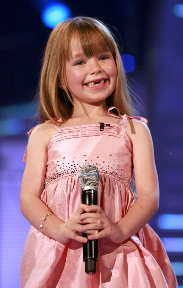 Connie Talbot appeared on Britain's Got Talent when she was six years-old
