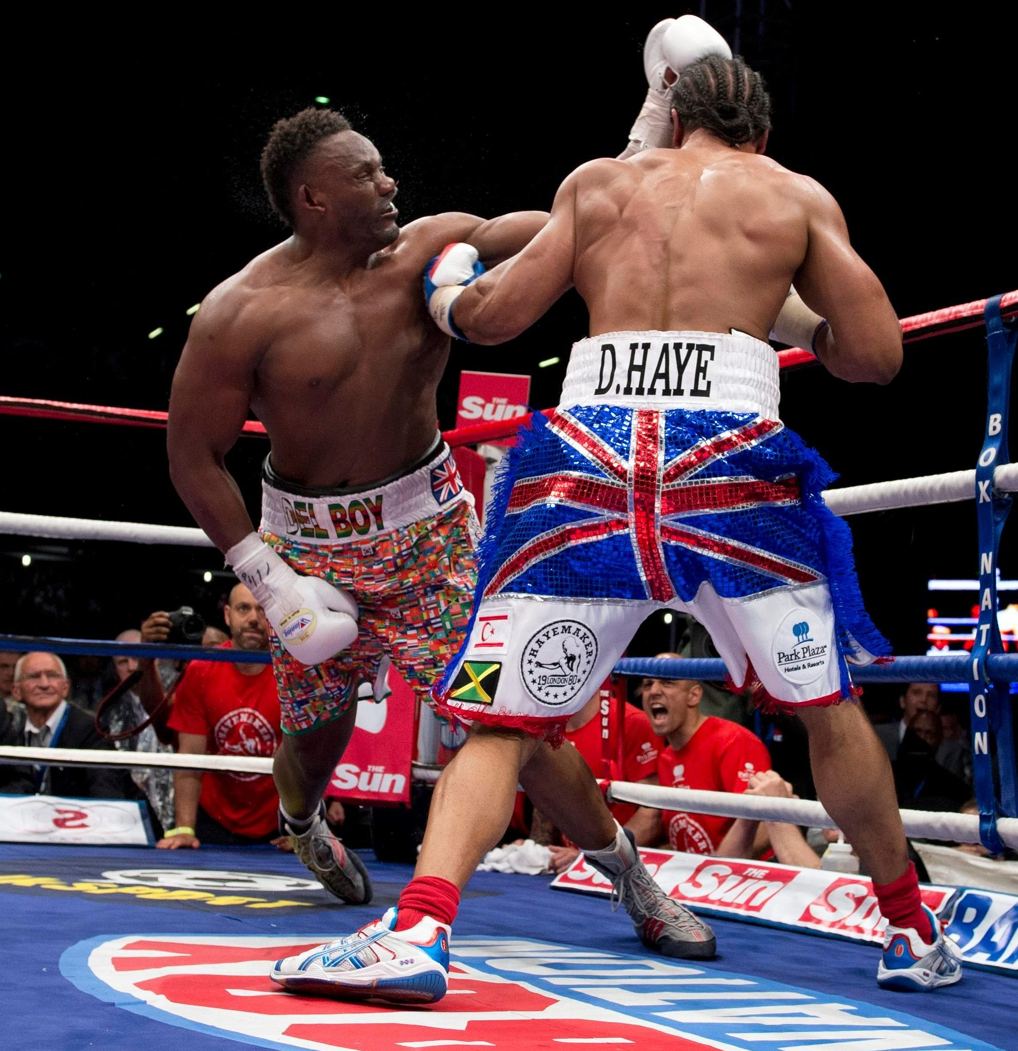Chisora was knocked out in round five of the 2012 grudge match