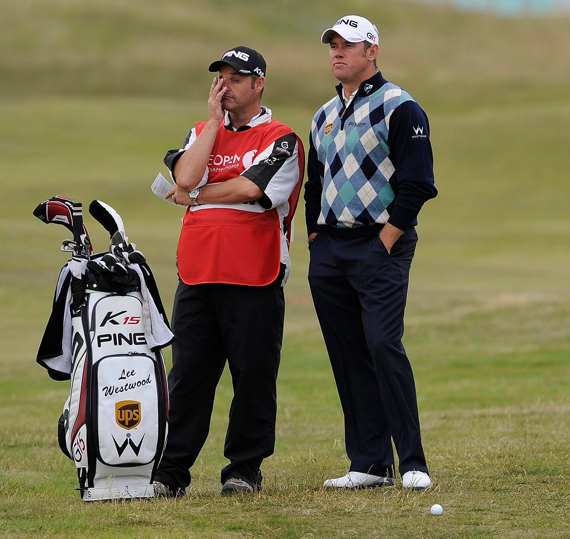 Westy split with legendary bagman Foster at this month's Turkish Airlines Open