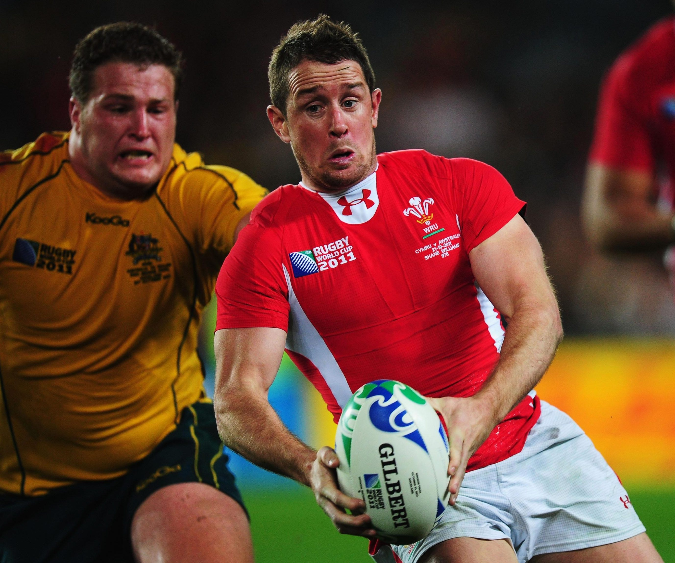 Shane Williams was named World Rugby Player of the Year in 2008 and scored 290 points in 87 games for Wales