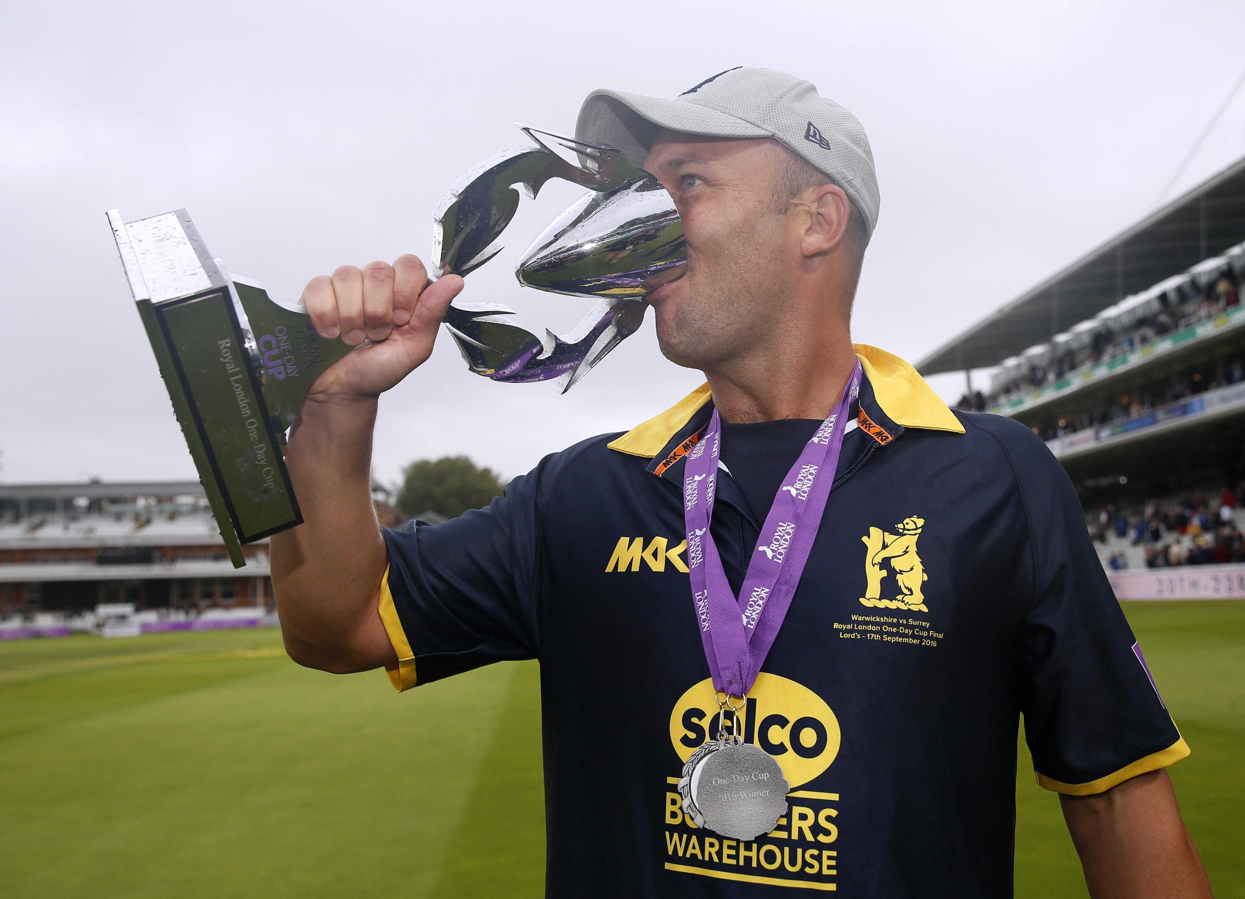 Jonathan Trott enjoyed plenty of success as a player with Warwickshire too