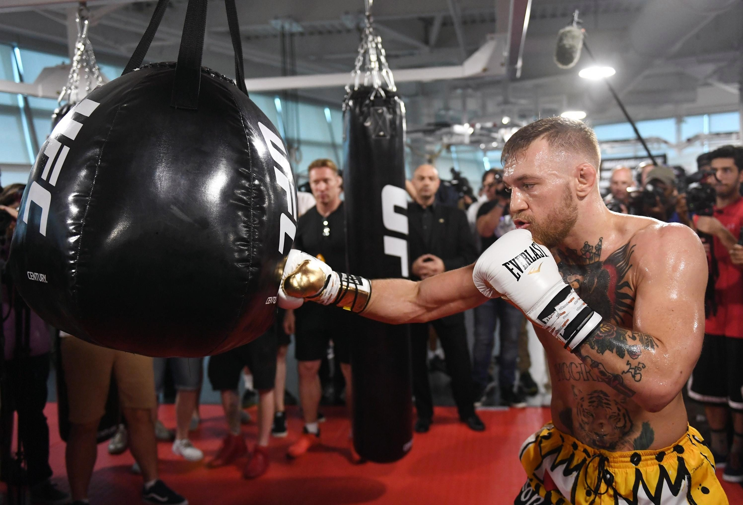 McGregor tried his hand at boxing once before - but the Irishman has not ruled out a move back into the ring
