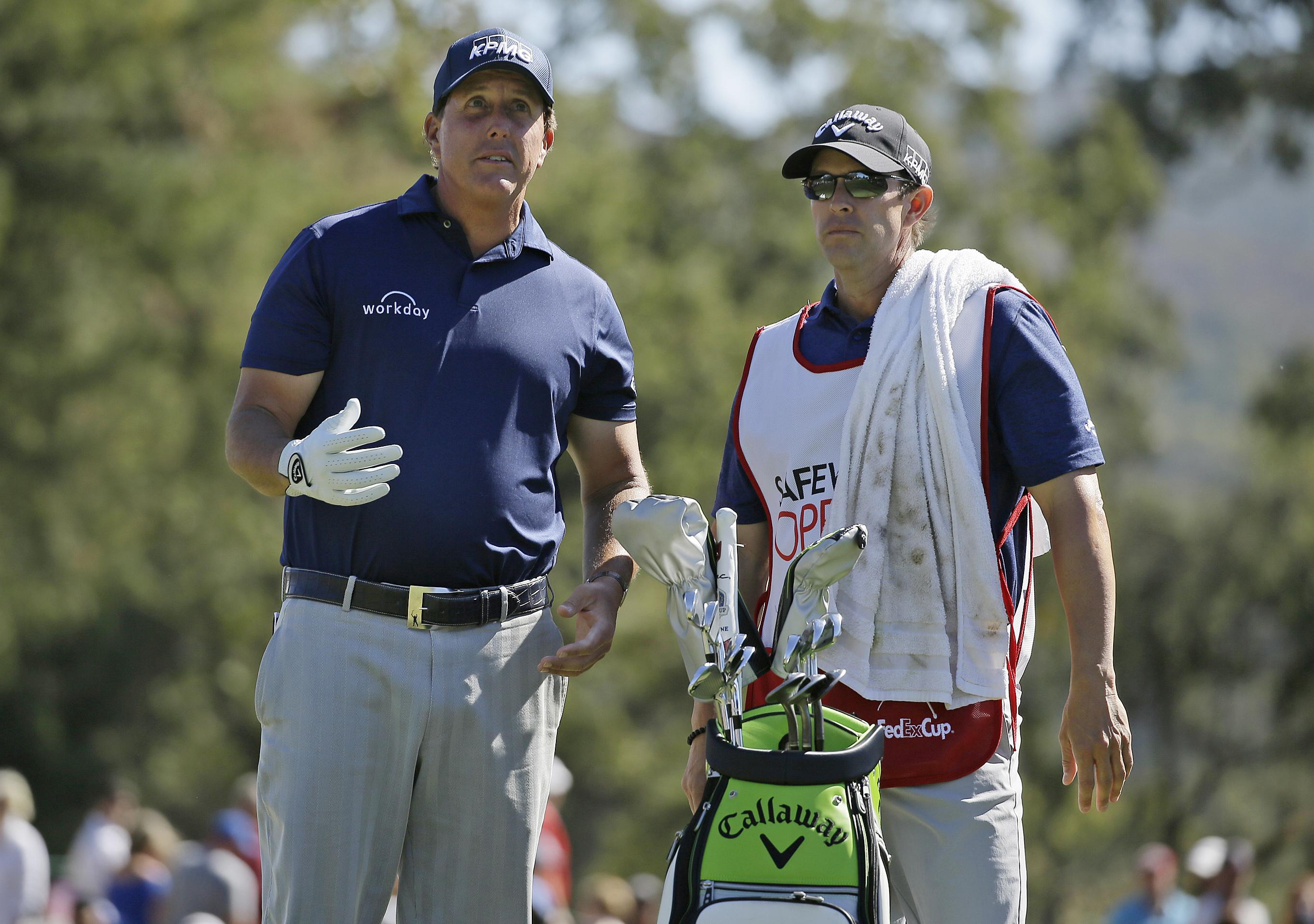 Phil and Tim Mickelson have partnered up on the golf course