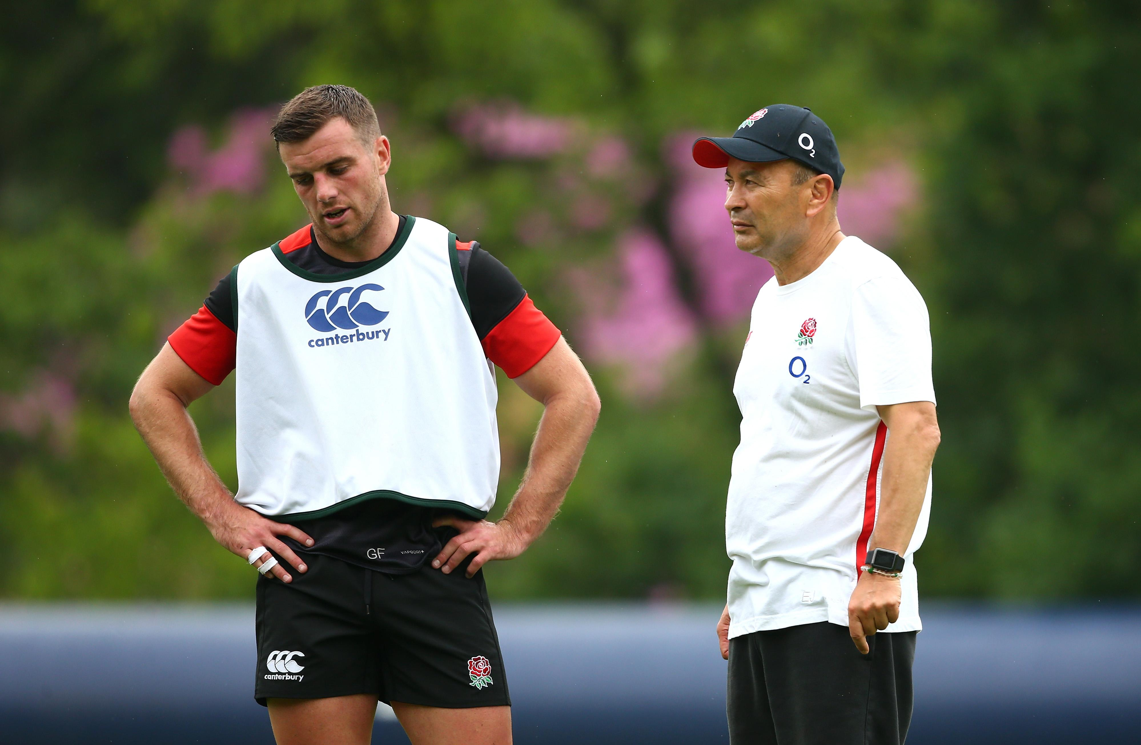Ford doesn't always start games under England coach Eddie Jones but says he's made peace with his changing role in the team